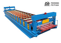 Energy Saving Color Steel Roll Forming Machine / Single Layer Roll Forming Machine
