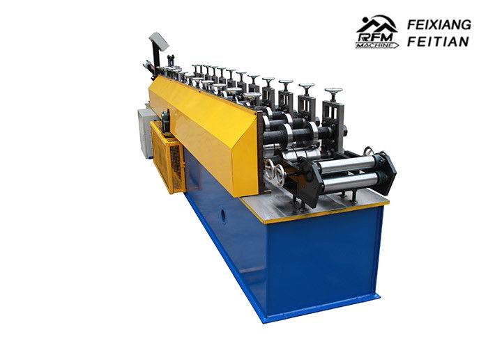 Professional Zinc Iron Metal Stud And Track Roll Forming Machine ISO Approved