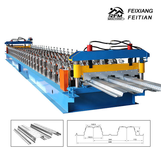 Floor Decking Metal Sheet Tile Making Machine Steel Decking Roll Forming Machine